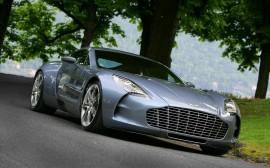 Papel de parede Aston Martin One 77 na Estrada