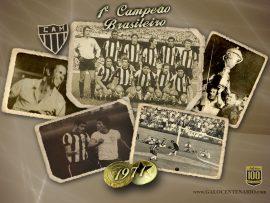 Papel de parede Atlético MG – Primeiro Campeão Brasileiro