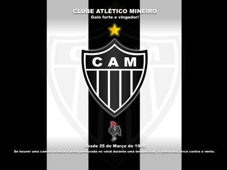 Papel de parede Atlético Mineiro – Galo Forte e Vingador para download gratuito. Use no computador pc, mac, macbook, celular, smartphone, iPhone, onde quiser!