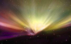 Papel de parede Aurora Boreal #1