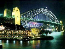 Papel de parede Austrália – Ponte Harbour