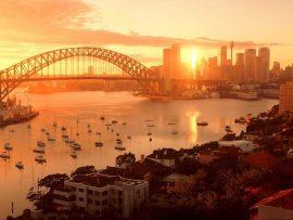 Papel de parede Austrália – Por-do-sol