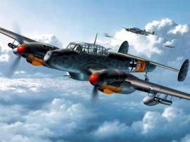 Papel de parede Avião de Guerra