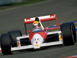 Papel de parede Ayrton Senna