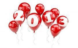 Papel de parede Balões 2013