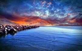 Papel de parede Beleza do Mar Báltico