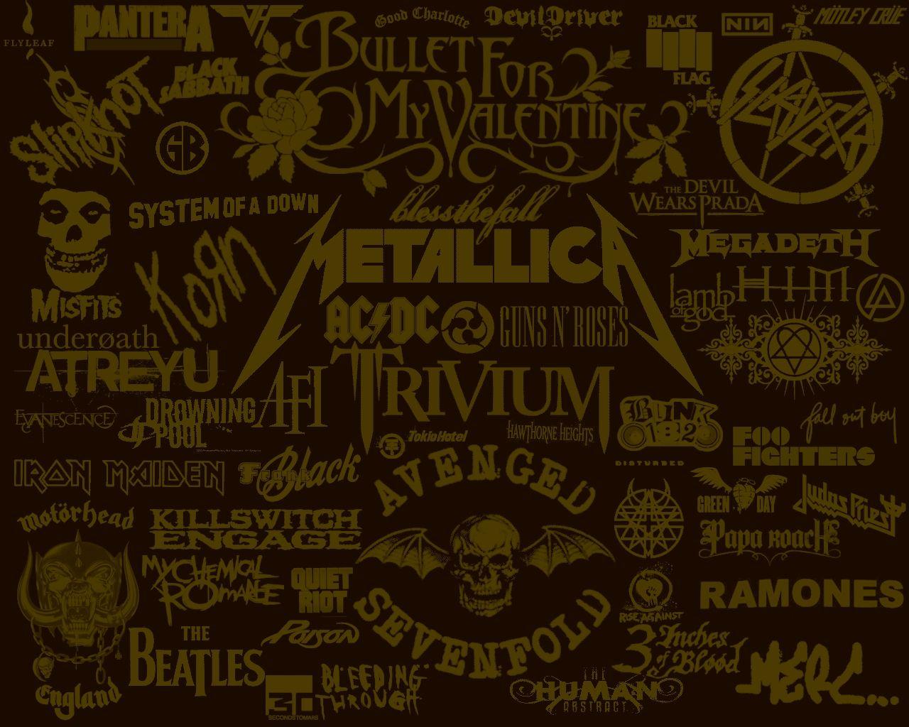 Papel de parede bandas de rock 2 wallpaper para download - Bandas protectoras de paredes ...