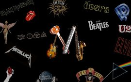 Papel de parede Bandas de Rock