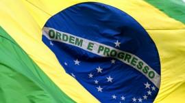 Papel de parede Bandeira do Brasil