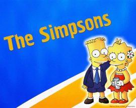 Papel de parede Bart e Lisa