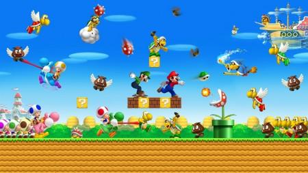 Papel de parede Batalha Mario para download gratuito. Use no computador pc, mac, macbook, celular, smartphone, iPhone, onde quiser!