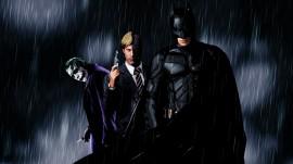 Papel de parede Batman, Duas Caras e Coringa