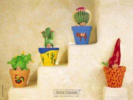 Papel de parede Bebês Mexicanos de Anne Geddes