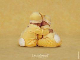 Papel de parede Bebês Ursos – Anne Geddes