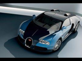 Papel de parede Belo Bugatti Azul