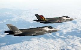 Papel de parede Caças F-35