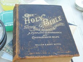 Papel de parede Bíblia Antiga