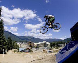 Papel de parede Bicicleta voadora