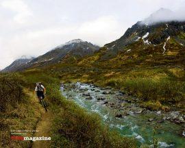 Papel de parede Bike, montanha e rio