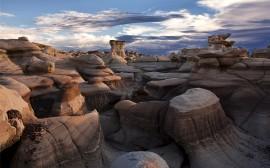 Papel de parede Bisti Badlands, no Novo México