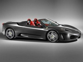 Papel de parede Black Ferrari original