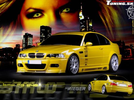 Papel de parede BMW M3 3D para download gratuito. Use no computador pc, mac, macbook, celular, smartphone, iPhone, onde quiser!