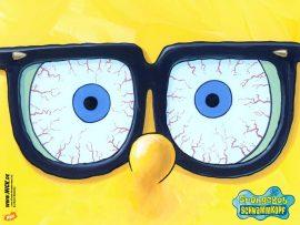 Papel de parede Bob Esponja de Óculos