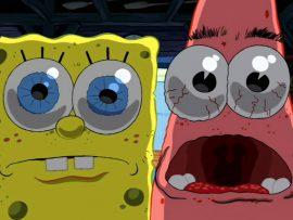 Papel de parede Bob Esponja e Patrick – 3D