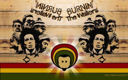 Papel de parede Bob Marley and The Wailers – Burnin para download gratuito. Use no computador pc, mac, macbook, celular, smartphone, iPhone, onde quiser!