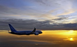 Papel de parede Boeing  787