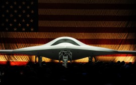 Papel de parede Drone Boeing Phantom Ray