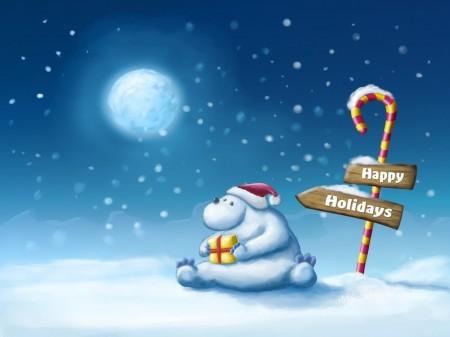 Papel de parede Urso Polar para download gratuito. Use no computador pc, mac, macbook, celular, smartphone, iPhone, onde quiser!
