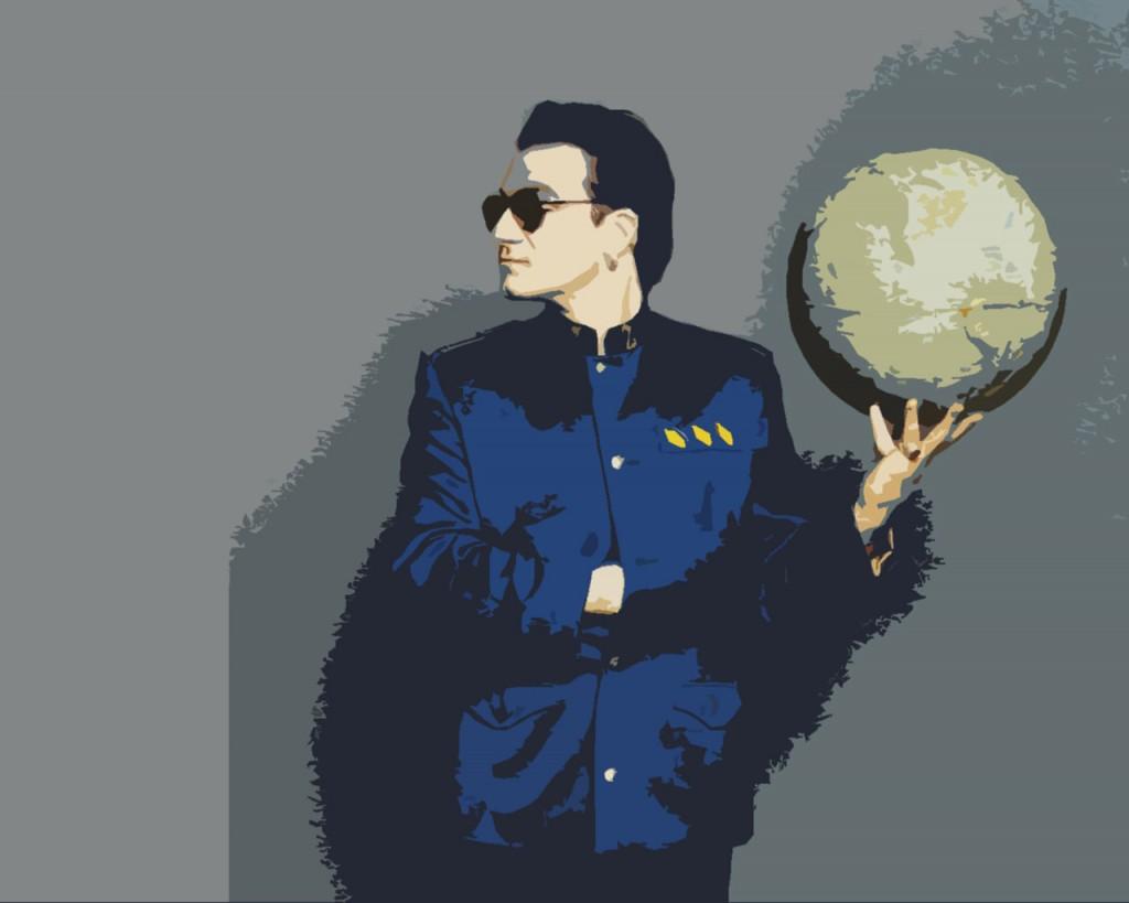 Papel de parede Bono: Mãos no Mundo para download gratuito. Use no computador pc, mac, macbook, celular, smartphone, iPhone, onde quiser!