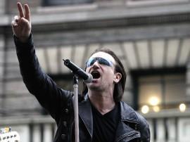 Papel de parede Bono, Um Ativista Pela Paz