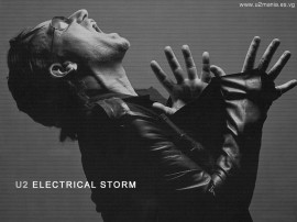 Papel de parede Bono em Electrical Storm