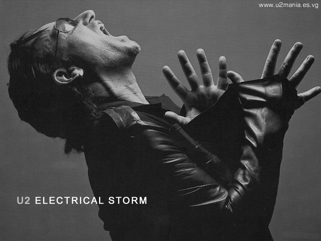 Papel de parede Bono em Electrical Storm para download gratuito. Use no computador pc, mac, macbook, celular, smartphone, iPhone, onde quiser!