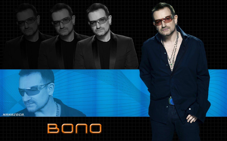 Papel de parede Bono Vox para download gratuito. Use no computador pc, mac, macbook, celular, smartphone, iPhone, onde quiser!