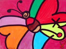Papel de parede Borboletas – Arte