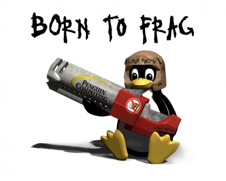 Papel de parede Born to Frag para download gratuito. Use no computador pc, mac, macbook, celular, smartphone, iPhone, onde quiser!