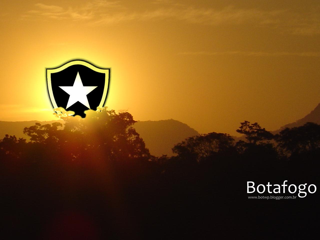 Papel de Parede Botafogo - Pôr-do-sol Wallpaper para ...