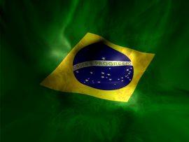 Papel de parede Brasil – Bandeira bonita