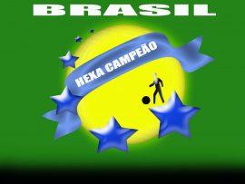 Papel de parede Brasil – Hexa