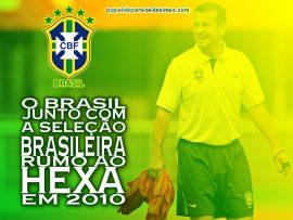 Papel de parede Brasil – Rumo ao Hexa