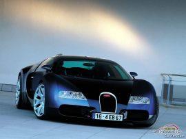 Papel de parede Bugatti Azul Metálico