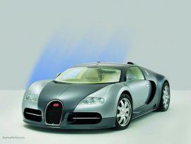 Papel de parede Bugatti Prateado