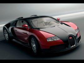 Papel de parede Bugatti Vermelho e Preto