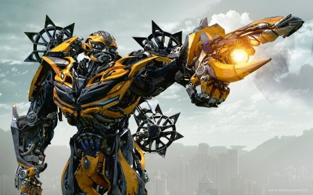 Papel de parede Transformers 4: Bumblebee para download gratuito. Use no computador pc, mac, macbook, celular, smartphone, iPhone, onde quiser!
