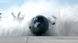 Papel de parede C-130J Hercules
