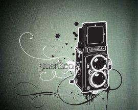 Papel de parede Câmera – Vintage
