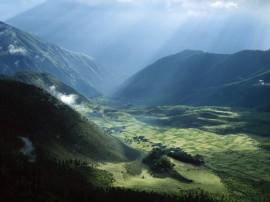 Papel de parede Campos do Tibet